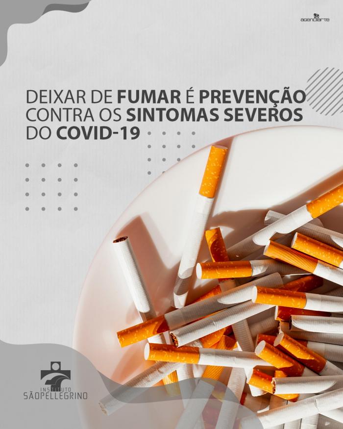 Deixar de fumar é prevenção contra sintomas mais severos do Covid-19
