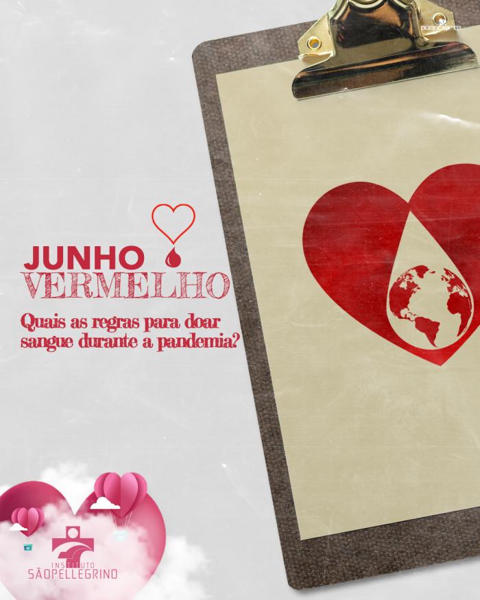 #JunhoVermelho - Quais as regras para doar sangue durante a pandemia?